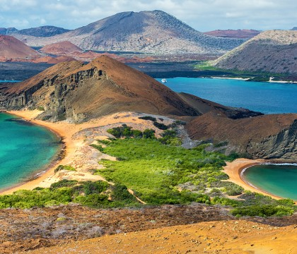 a picture of Ecuador and Galapagos Islands