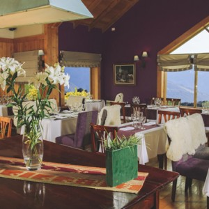 dining 3 - Los Cauquenes Resort and Spa - luxury argentina holiday packages