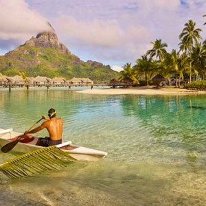 luxury bora bora holiday packages - intercontinental bora bora resort and thalasso spa - watersports