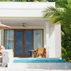 Beach Villas With Pool 2 Dhigali Maldives Luxury Maldives Honeymoon Packages