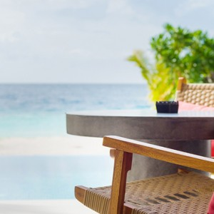 luxury maldives holiday packages - dhigali maldives - beach villa with pool