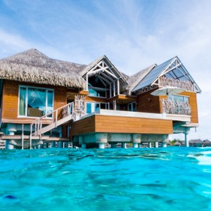 luxury bora bora holiday packages - intercontinental bora bora resort and thalasso spa - brando suite