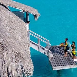 luxury bora bora holiday packages - intercontinental bora bora resort and thalasso spa - villas