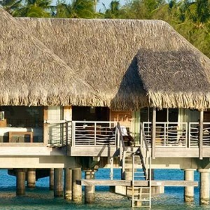 luxury bora bora holiday packages - intercontinental bora bora resort and thalasso spa - emerald overwater villa