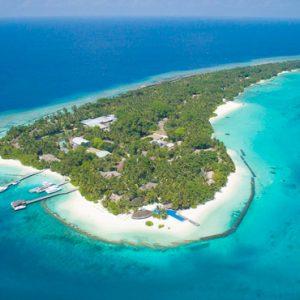 Kuramathi Maldives Luxury Luxury Maldives Holiday Packages Aerial View