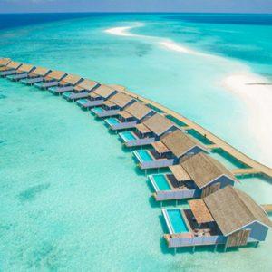 Kuramathi Maldives Luxury Luxury Maldives Holiday Packages Aerial View Of Overwater Villas