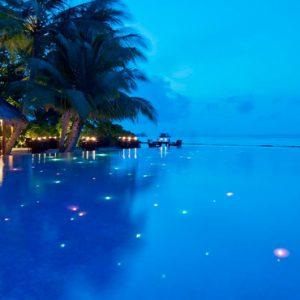 Kuramathi Maldives Luxury Luxury Maldives Holiday Packages Pool At Night