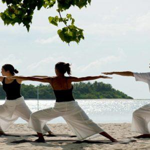 Kuramathi Maldives Luxury Luxury Maldives Holiday Packages Yoga