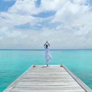 Kuramathi Maldives Luxury Luxury Maldives Holiday Packages Yoga On The Jetty