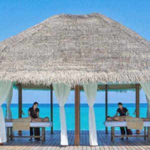 Kuramathi Maldives Luxury Luxury Maldives Holiday Packages Couple Spa Massage Over The Lagoon