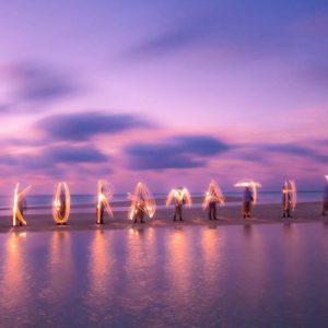 Kuramathi Maldives Luxury Luxury Maldives Holiday Packages Light Show