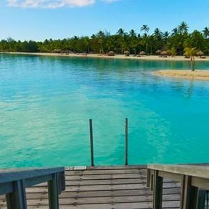 luxury bora bora holiday packages - intercontinental bora bora resort and thalasso spa - water villa