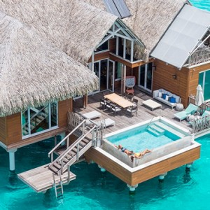 Luxury Bora Bora Holiday Packages Intercontinental And Thalasso Spa Bora Bora Brando Suite 2 Bedroom