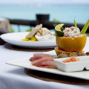Luxury Cook Islands Holiday Packages Pacific Resort Aitutaki Dining 3