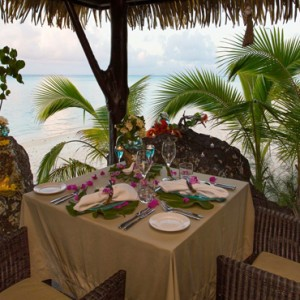 Luxury Cook Islands Holiday Packages Pacific Resort Aitutaki Dining 5