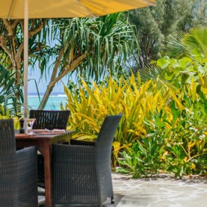 Luxury Cook Islands Holiday Packages Pacific Resort Aitutaki Dining 6