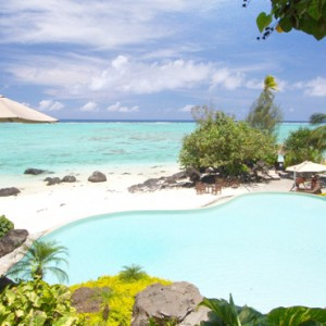 Luxury Cook Islands Holiday Packages Pacific Resort Aitutaki Pool 2