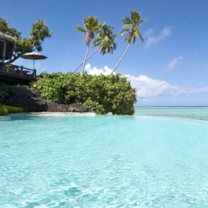 Luxury Cook Islands Holiday Packages Pacific Resort Aitutaki Pool 3