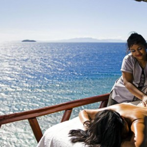 Luxury Fiji Holiday Packages - Matamanoa Island Resort Fiji - Spa