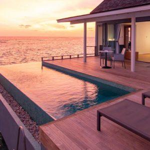 Luxury Maldives Holiday Packages Kuramathi Island Resort Maldives Thundi Water Villa 2