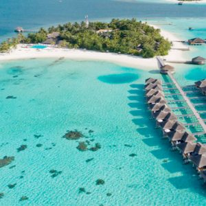 Luxury Maldives Holidays Maafushivaru Aerial View2