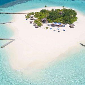 Luxury Maldives Holidays Maafushivaru Aerial View3