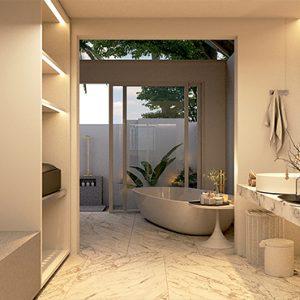 Luxury Maldives Holidays Maafushivaru Duplex Pool Villas