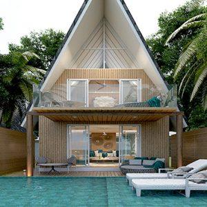 Luxury Maldives Holidays Maafushivaru Duplex Pool Villas1