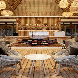 Luxury Maldives Holidays Maafushivaru Library Lounge