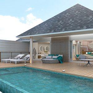 Luxury Maldives Holidays Maafushivaru Water Pool Villa