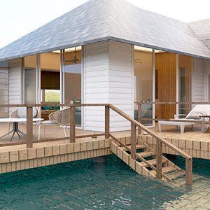 Luxury Maldives Holidays Maafushivaru Water Villa