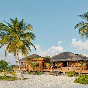 Luxury Maldives Holidays Maafushivaru Resort Exterior