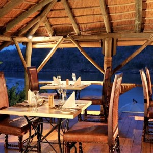 Luxury Safari Holiday Packages Serena Mivumo River Lodge Dinner