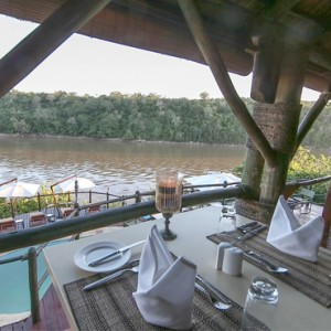 Luxury Safari Holiday Packages Serena Mivumo River Lodge Dinner 2