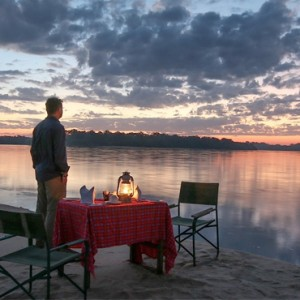 Luxury Safari Holiday Packages Serena Mivumo River Lodge Dinner 3