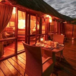 Luxury Safari Holiday Packages Serena Mivumo River Lodge Dinner 4