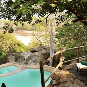 Luxury Safari Holiday Packages Serena Mivumo River Lodge Pool