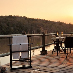 Luxury Safari Holiday Packages Serena Mivumo River Lodge Terrace