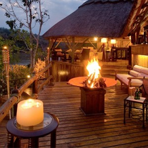 Luxury Safari Holiday Packages Serena Mivumo River Lodge Terrace 2