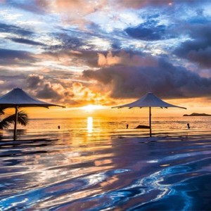 luxury fiji holiday packages - Matamanoa Island Resort - sunrise