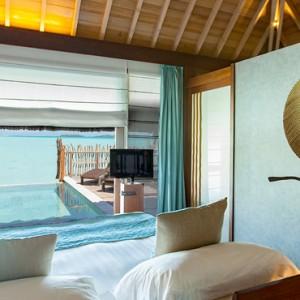 luxury bora bora holiday packages - intercontinental bora bora resort and thalasso spa - pool premium overwater villa