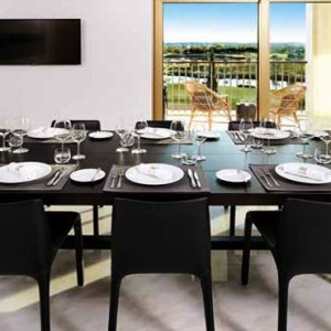 Portugal holiday Packages Anantara Vilamoura Presidential Suite Dining Area