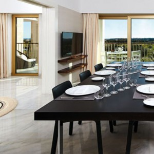 Portugal holiday Packages Anantara Vilamoura Victoria Suite Dining Room