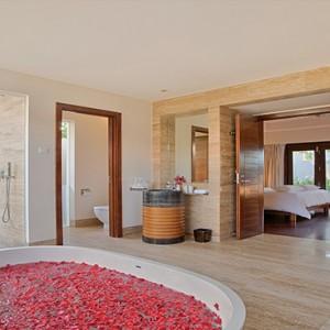 Pullman Danang Beach Resort Luxury Vietnam Honeymoon Packages One Bedroom Cottage Bathroom