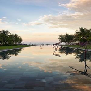 luxury vietnam holiday packages - pullman danang vietnam - sunset