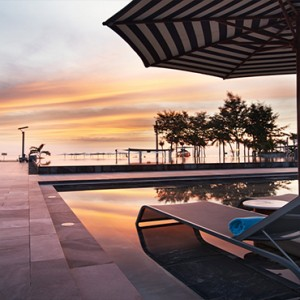 luxury vietnam holiday packages - pullman danang vietnam - pool