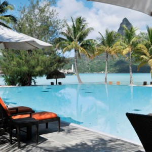 luxury bora bora holiday packages - intercontinental bora bora resort and thalasso spa - pool