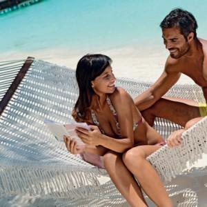 Luxury Maldives holiday packages - Kanuhura Maldives - hammock
