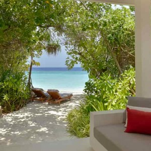 Deluxe Beach Bungalow 2 Dhigali Maldives Luxury Maldives Honeymoon Packages