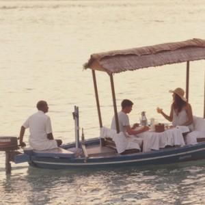 Luxury Maldives holiday packages - Kanuhura Maldives - boat